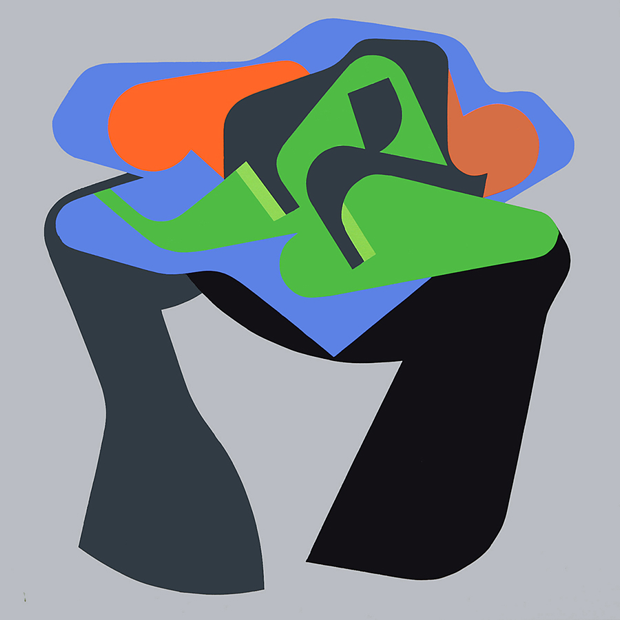 Mothership, acrylic on canvas, 150 x 150 cm, 2010_900